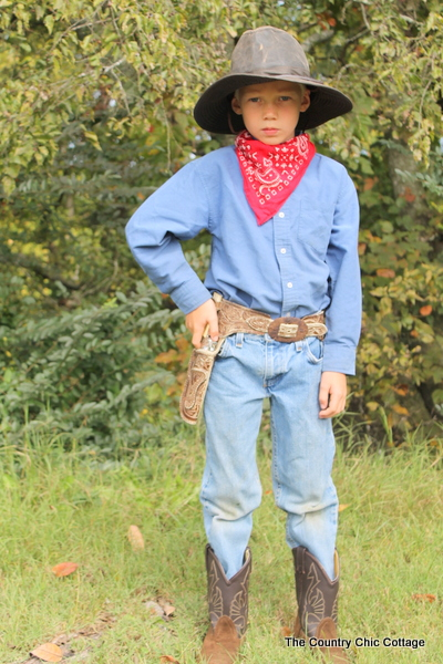 Cowboy Halloween Costume From The Thrift Store The