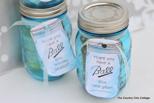 Ball Mason Jar Labels For Gifts The Country Chic Cottage