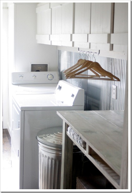 ideas for an organized laundry room the country chic cottage on laundry room wall covering ideas id=67372