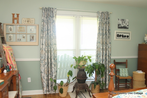 Rustic Farmhouse Bedroom Reveal - The Country Chic Cottage on Farmhouse Bedroom Curtain Ideas  id=38775