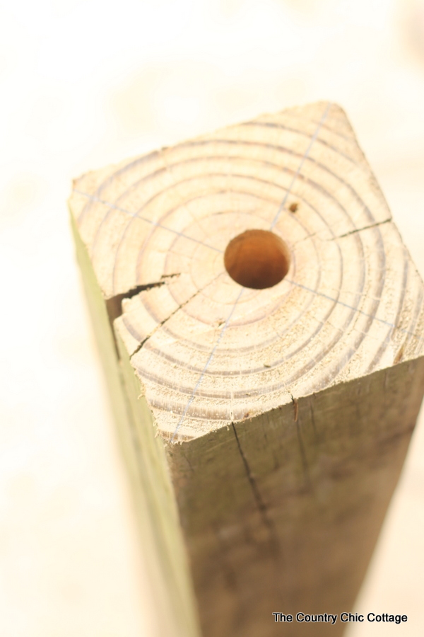 How To Make A Carpenter Bee Trap The Country Chic Cottage