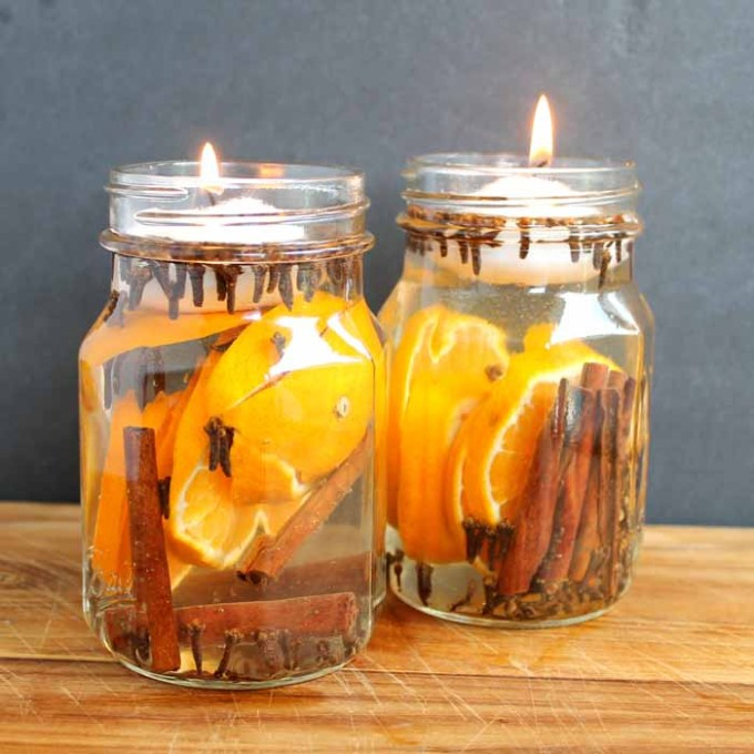 Make these fall candles for your home in just minutes!