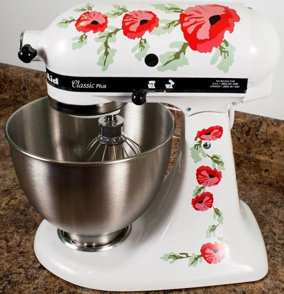KitchenAid Mixer Decals Decorate Your Stand Mixer The