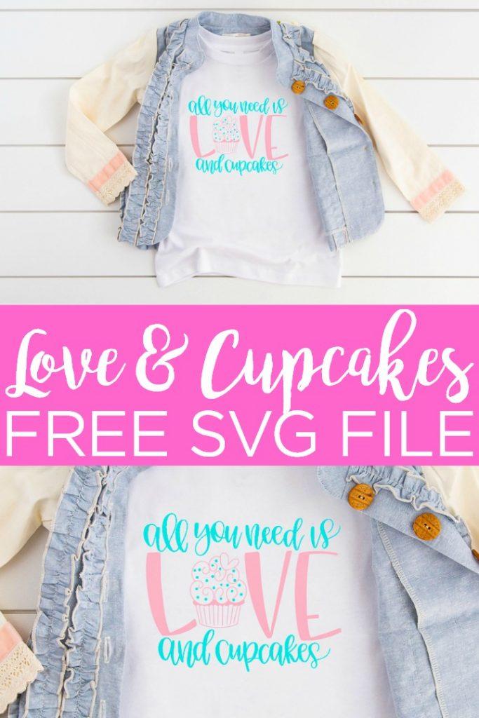 Download Cupcake SVG plus 14 More Free Valentine's Day SVG Files ...