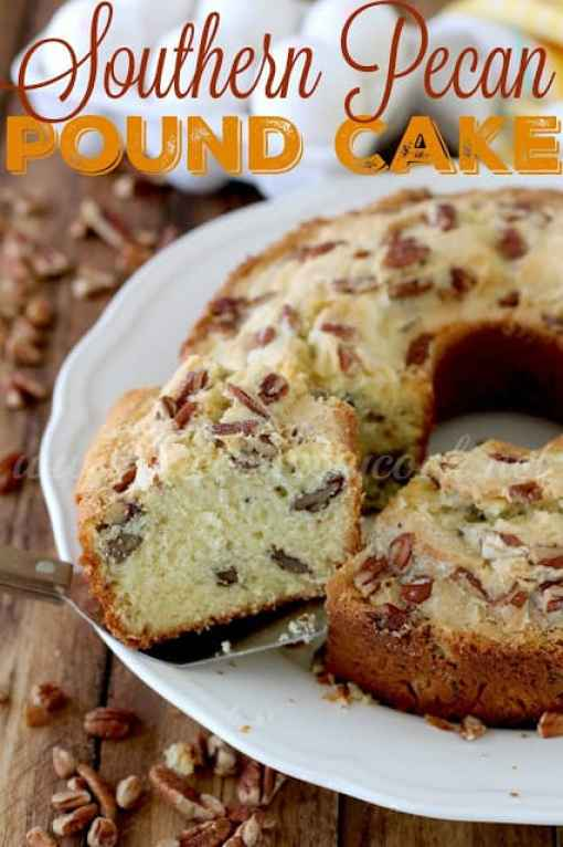 39 Perfect Pound Cake Recipes