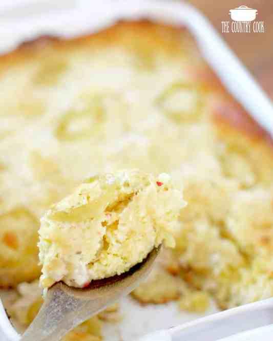 Easy Cornbread Chicken Casserole