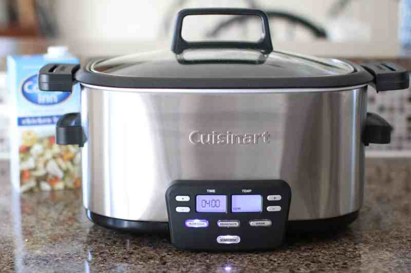 covered 4-quart slow cooker