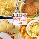 Grandma's Salmon Patties at Weekend Potluck #362