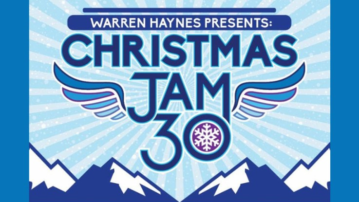 Christmas Jam.Livestream Warren Haynes 30th Annual Christmas Jam The