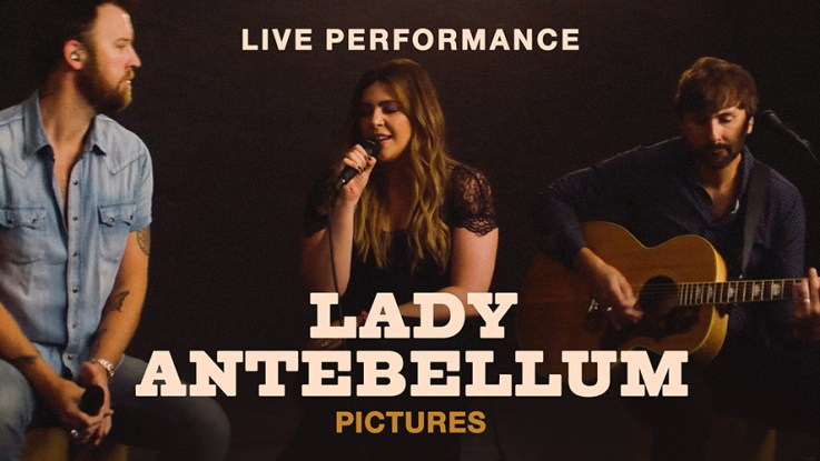 Vevo and Lady Antebellum Release Live Performance Video of