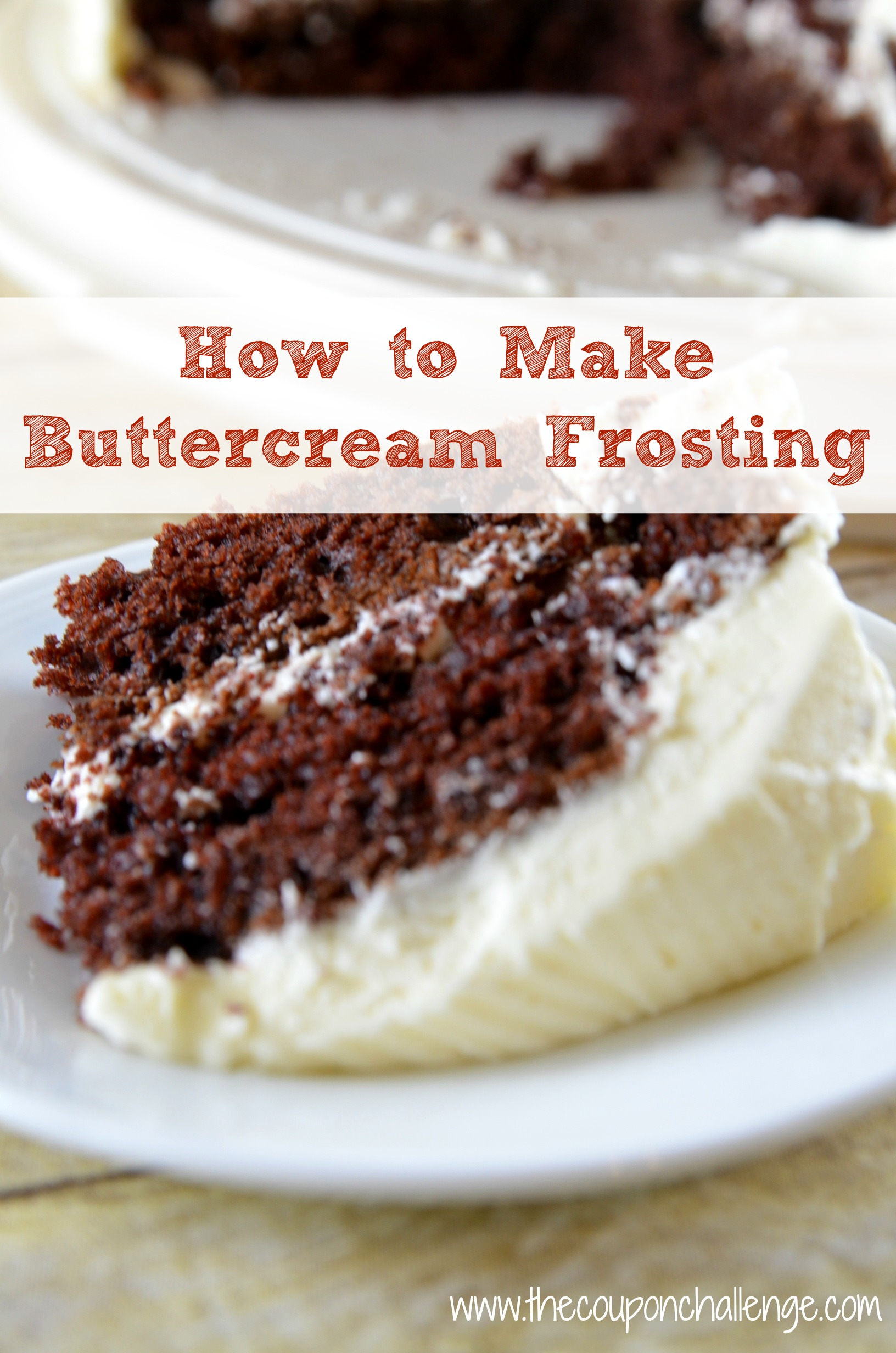 How To Make Buttercream Frosting I Recipe Buttercream Frosting