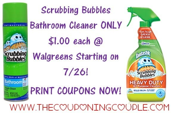 Scrubbling Bubbles Tub Cleaner