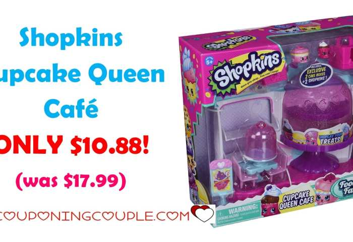 Shopkins Cupcake Queen Cafe Only 1088