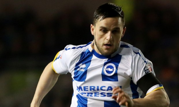 Craig Conway turning out for Brighton earlier this month.