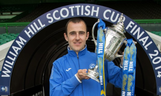 Dave Mackay is determined to hold the cup for real on Saturday.