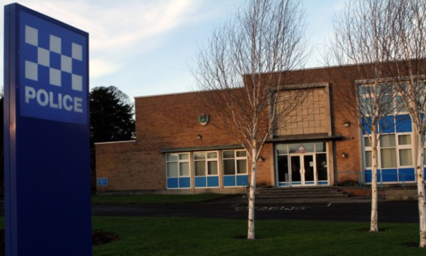 The woman drove to Cupar police station after being stopped by the fake officer.