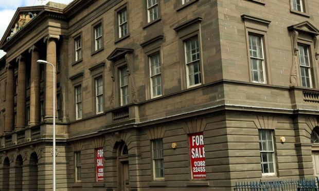 John Stevenson, Courier,25/06/10.Dundee.Pic shows the empty Customs House building on Dock Street.