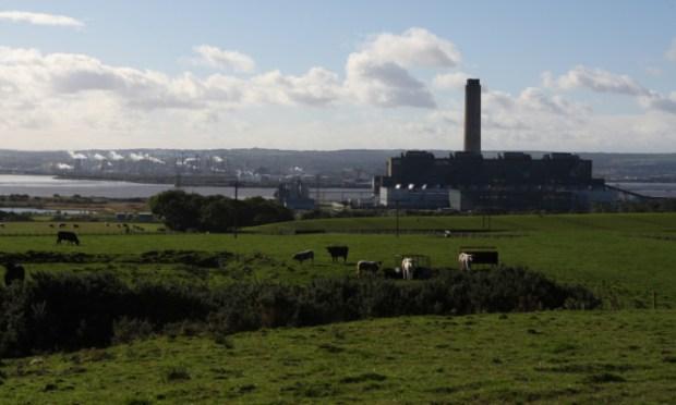 Longannet Power Station.