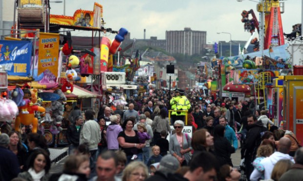 The Links Market draws huge crowds to Kirkcaldy.