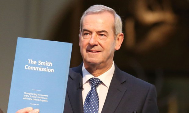 Lord Smith of Kelvin chaired the Smith Commission on extra powers for the Scottish Parliament.