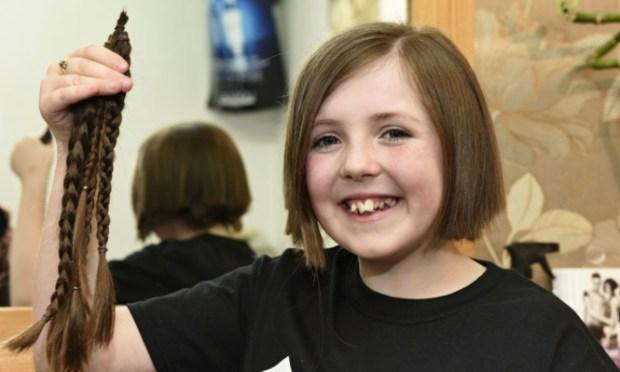 Abbie got her locks cut at Elements Hair Design in Forfar.