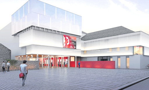 An artists impression of how Perth Theatre would look under the planners vision.
