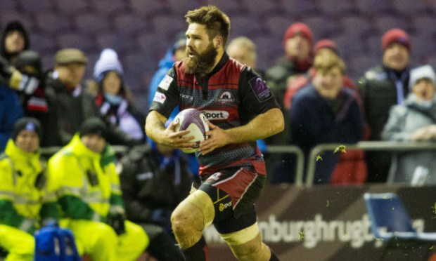"""Cornell Du Preez has made an """"immense"""" contribution in 50 games with Edinburgh."""