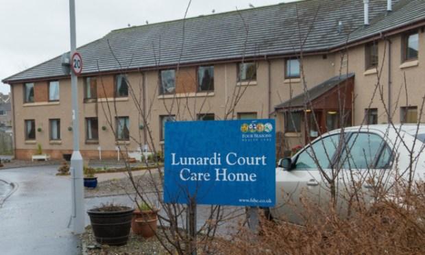The Lunardi Court care home in Cupar.