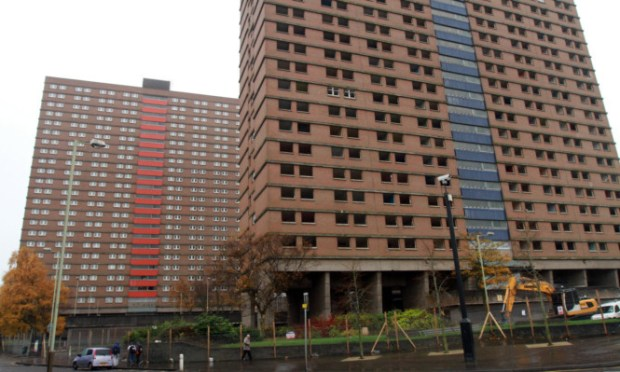 Butterburn Court and Bucklemaker Court will be demolished on June 30.