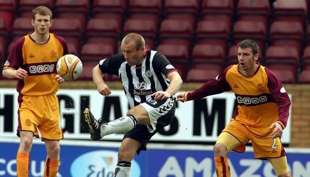 Football, Motherwell v St Mirren.   Jim Hamilton, St Mirren