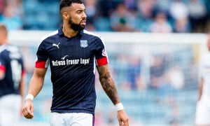 Dundee striker Kane Hemmings is on the move.