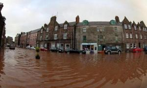 Stonehaven has been blighted by flooding in recent times