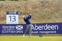 Richie Ramsay battled to a par round of 72 in the winds at Castle Stuart yesterday.