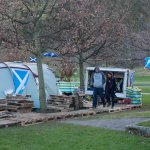Indy Camp loses legal battle to remain outside the Scottish Parliament