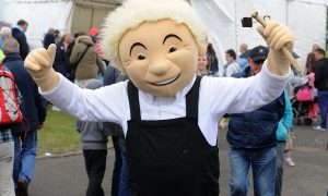 Oor Wullie at Castle Green.