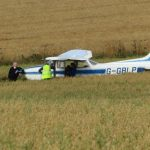 Drama as plane crashes in Fife field