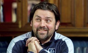 22/02/16    DENS PARK - DUNDEE Dundee Manager Paul Hartley talks to the press ahead of his side's fixture against Dumbarton