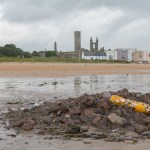 Bathers told to stay out of the water at popular St Andrews beach
