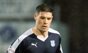 Darren O'Dea in action for Dundee.