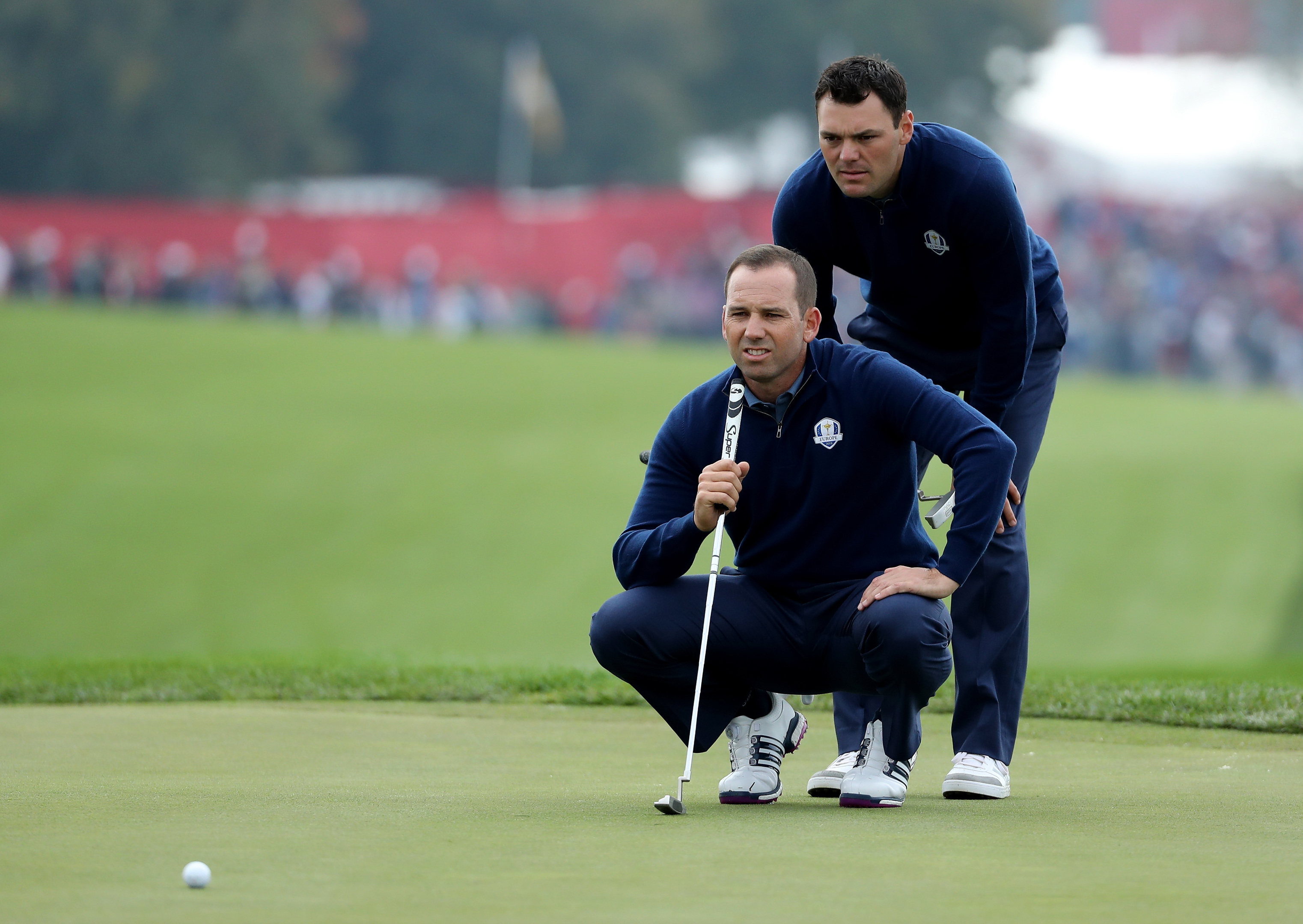 Europe hit back against U.S.  at Ryder Cup