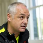 """Dundee United boss Ray McKinnon promises not to """"park the bus"""" at Easter Road"""