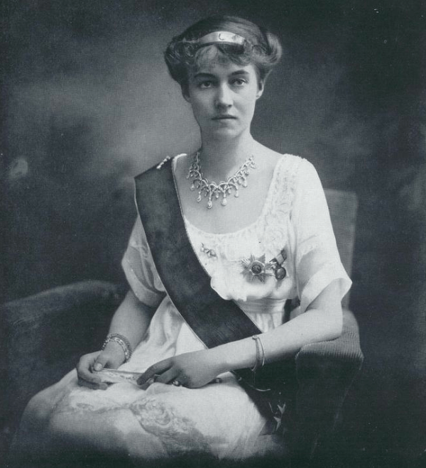 The new Grand Duchess Charlotte of Luxembourg is pictured in the early months of her reign