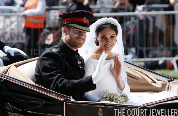 The Duke and Duchess of Sussex on their wedding day, May 2018 (Aaron Chown - WPA Pool/Getty Images)