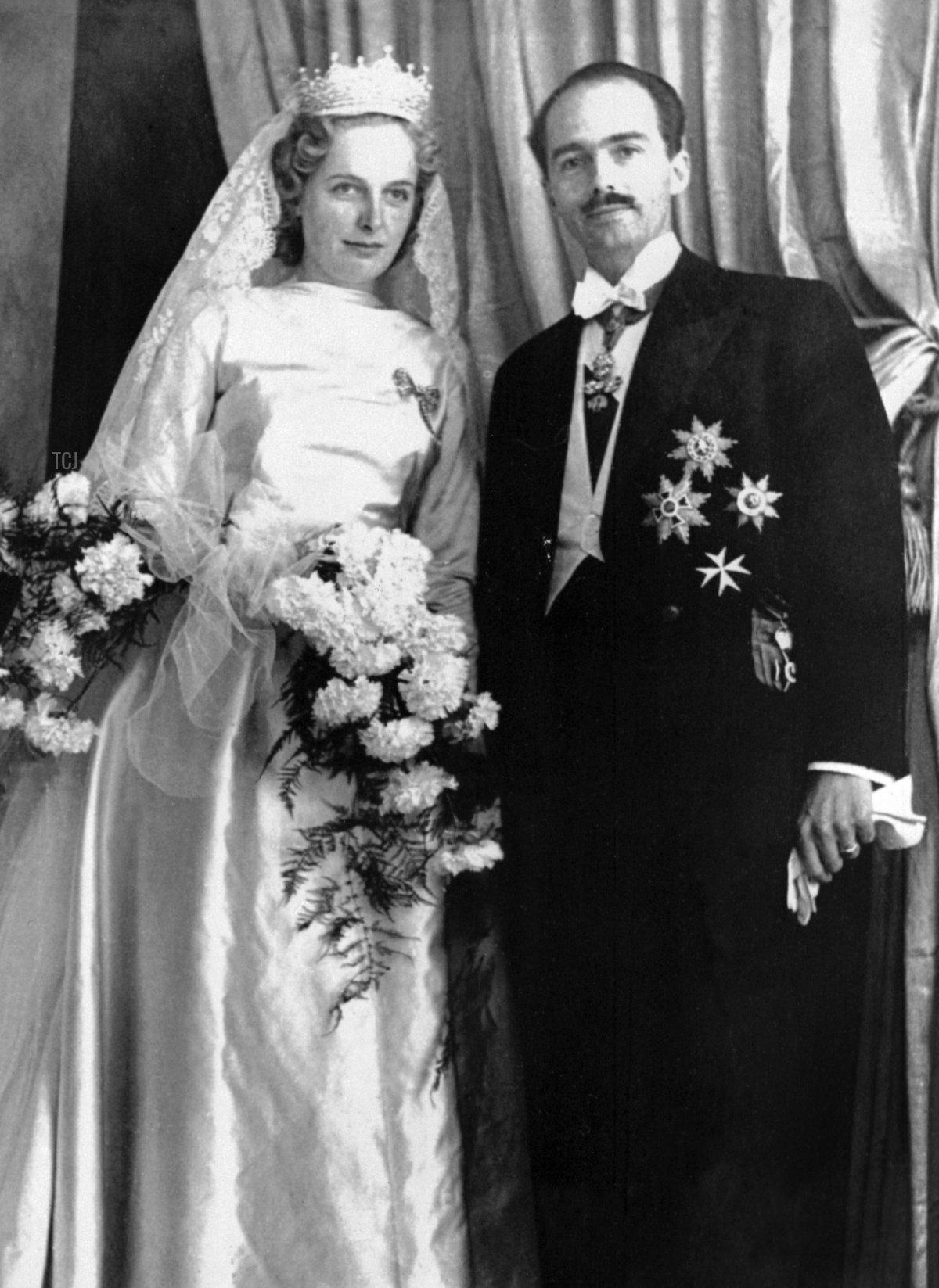 Archduke Otto and Archduchess Regina