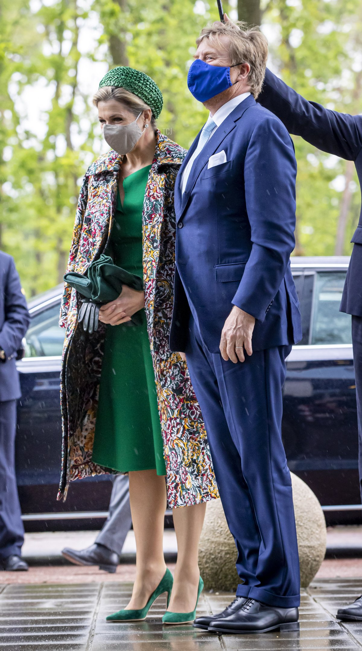 ing Willem-Alexander of The Netherlands and Queen Maxima of The Netherlands visit Brightlands Campus Greenport during their region visit to North-Limburg on May 27, 2021 in Venlo, Netherlands
