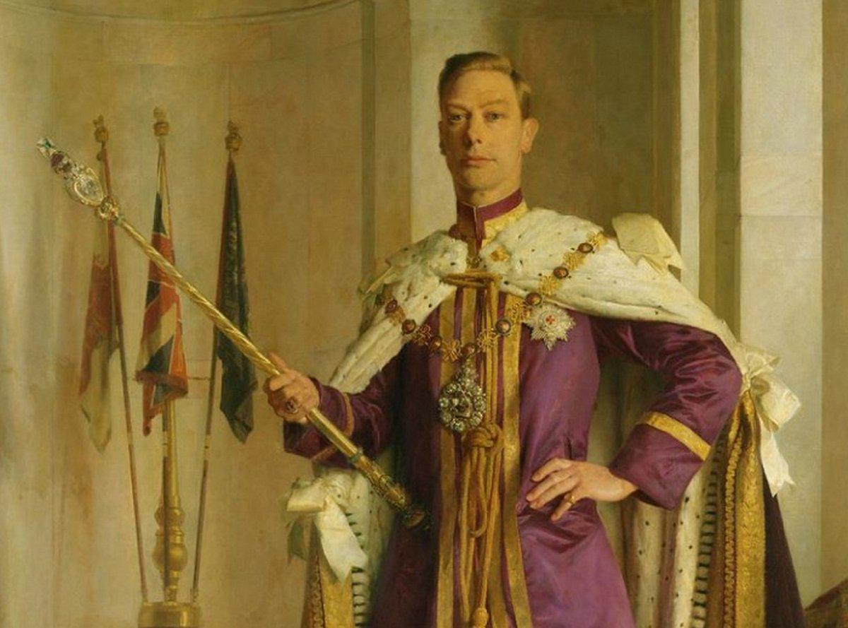 King George VI's Coronation Portrait (1937)
