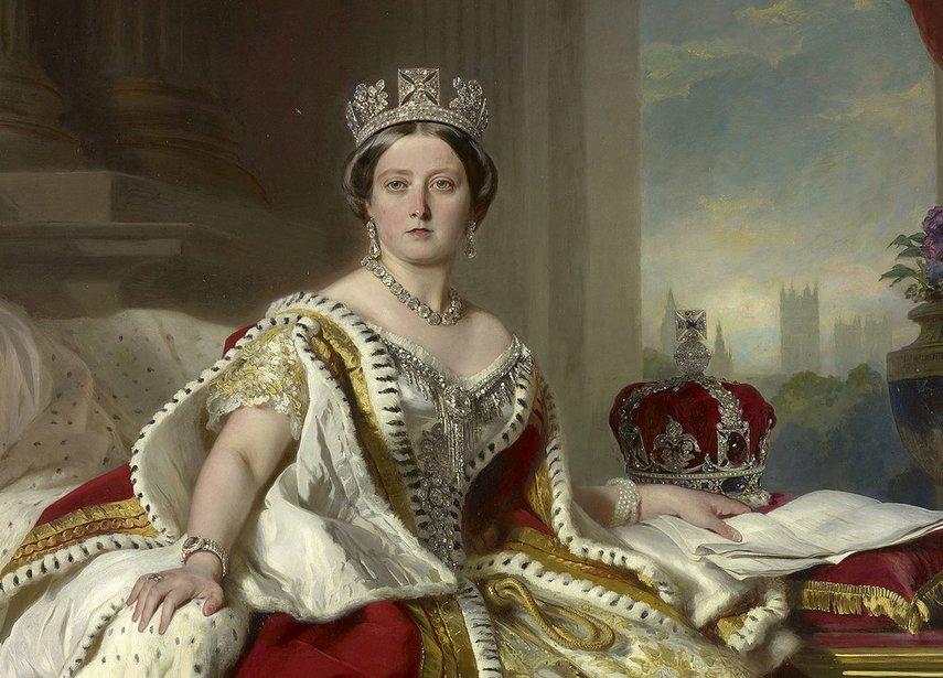 Franz Xaver Winterhalter: Queen Victoria, 1859