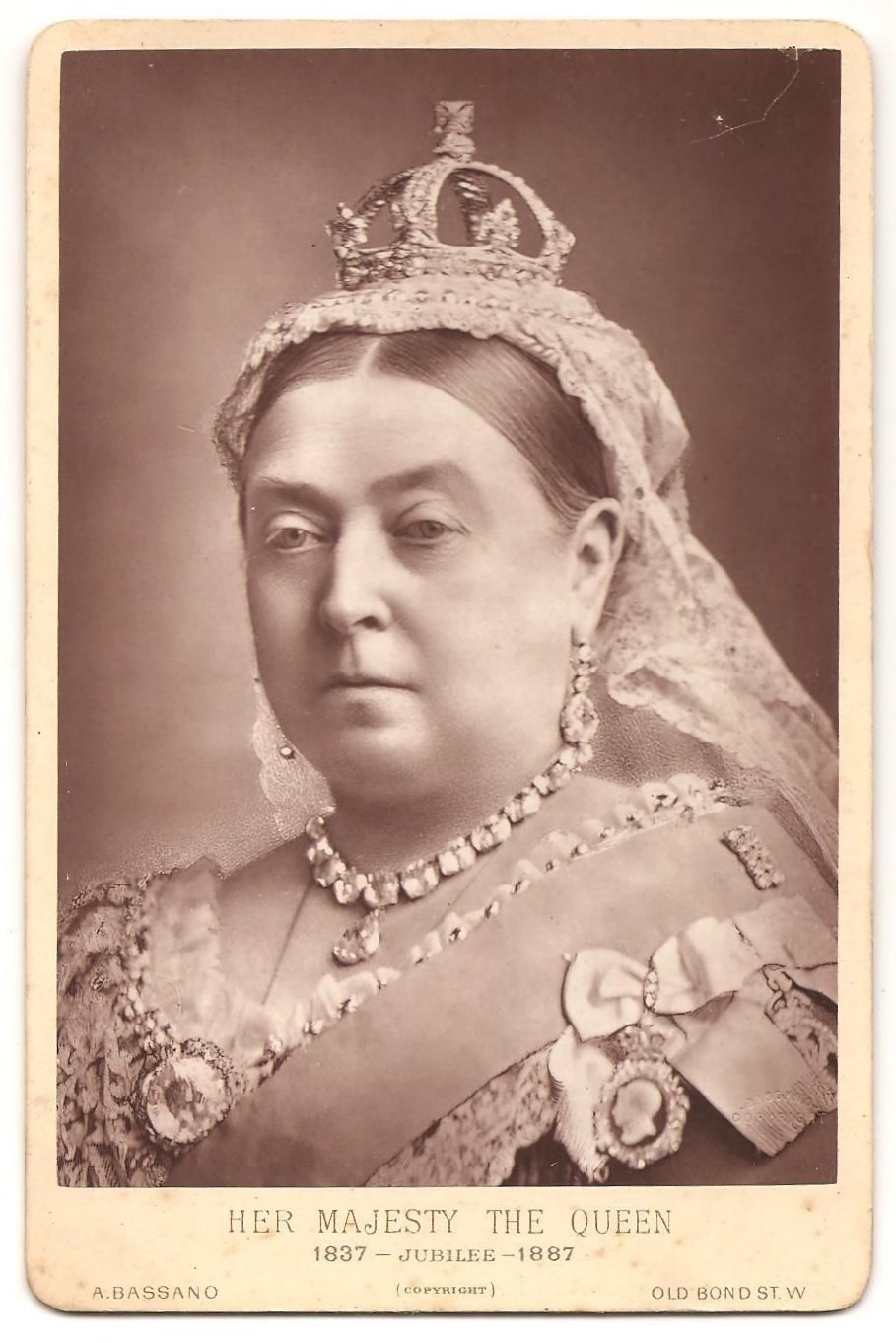 Queen Victoria by Bassano, 1887