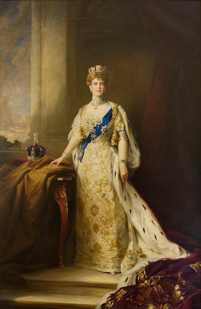 Queen Mary's coronation portrait
