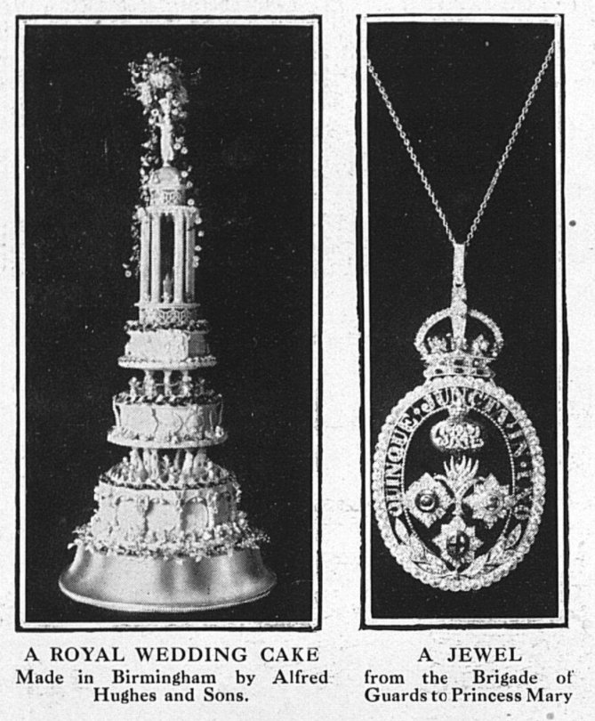 Illustration of Princess Mary's Brigade of Guards Pendant